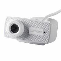 【バッファロー(BUFFALO)】マイク内蔵120万画素Webカメラ HD720p対応モデル BSWHD06MWH(ホワイト)