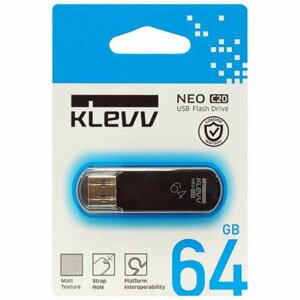 【メール便 送料250円 対応商品】【KLEVV】【USBメモリー 64GB】U064GUR2-NB