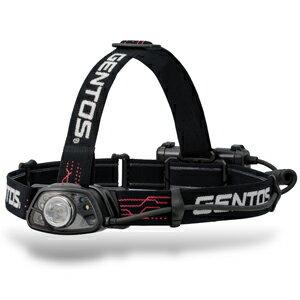 【ジェントス GENTOS】ツインセンサー搭載ヘッドライト HX-133D 明るさ 220ルーメン 点灯時間8時間 耐塵 防滴 IP64準拠