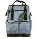 【アークランドサカモト】WIZ'A ウイザ 4WAY ツールバッグ (デニムブルー) WZBー001BL