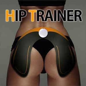 【理想的ヒップアップ!】HIP TRAINER(ヒップトレーナー) PLHT952BK