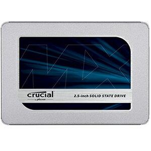 【クルーシャル Crucial】SSD 500GB mx500 SATA 6 Gbps 2.5インチ内蔵SSD CT500MX500SSD1
