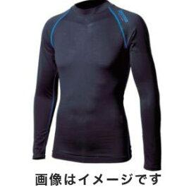 【おたふく手袋 OTAFUKU(メール便1個のみ対象商品)】おたふく手袋 BTアウトラスト ロングスリーブ クルーネックシャツ ブラック×ブルー Mサイズ JW-540