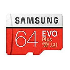 【メール便を選ぶと 送料250円!】【サムスン SAMSUNG】【microSDXC 64GB】【UHS-I U3】【Class10】アダプタ付 MB-MC64GA EVO+シリーズ