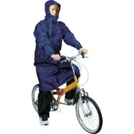 【カジメイク kajimeiku】2WAYサイクルコート ネイビー Lサイズ CY002-55-L 自転車 レインコート 男女 レディースメンズ カッパ雨具
