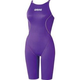 【デサント DESCENTE】ARENA(アリーナ) レディース 競泳用水着 ハーフスパッツ(クロスバック) X-パイソン2 PLSV L ARN7020W