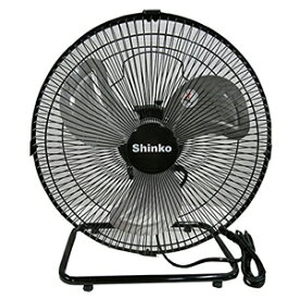 【新光電気 Shinko】床置き型工場扇風機 30cm KS-30Y