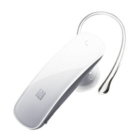 【バッファロー BUFFALO】バッファロー BSHSBE33WH Bluetooth4.0 ヘッドセット NFC対応モデル ホワイト