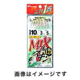 【ハヤブサ Hayabusa】これ一番 MIXスキンサビキ 6本鈎 9号 (ハリス 3) HS712