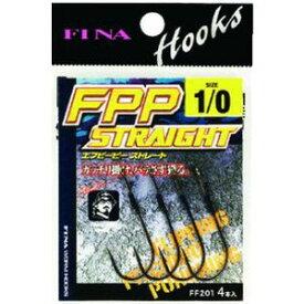 【ハヤブサ Hayabusa】フィナ(FINA) FPP STRAIGHT 2/0 (鈎 4個入り) FF201