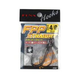 【ハヤブサ Hayabusa】フィナ(FINA) FPP STRAIGHT 4/0 (鈎 3個入り) FF201