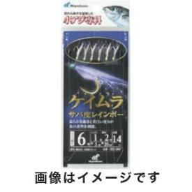 【ハヤブサ Hayabusa】小アジ専科 ケイムラサバ皮レインボー 10号 (ハリス 3) HS100