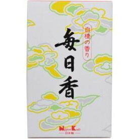 【日本香堂 Nippon Kodo】日本香堂 毎日香 短中把 10入 白檀の香り #102