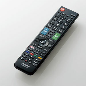 【エレコム ELECOM】テレビリモコン SHARP シャープ アクオス用 設定不要すぐに使える ブラック ERC-TV01BK-SH