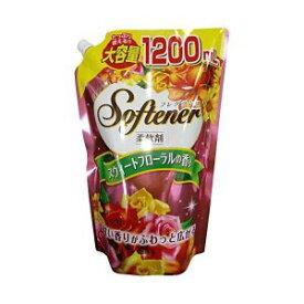 【日本合成洗剤】フレグランスソフター スウィートフローラルの香り 大容量 1200mL