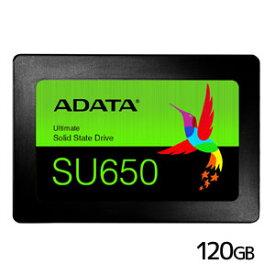 【エイデータ ADATA】ADATA ASU650SS-120GT-R SSD 120GB 内蔵 メーカー3年保証