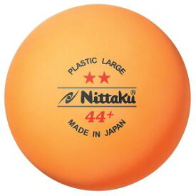 【ニッタク Nittaku】2スタープラ44ラージボール2ダース入り NB1032