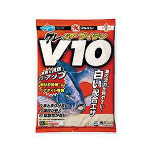 【マルキユー マルキュー】マルキユー マルキュー グレパワーV10(ブイテン) 1600g メジナ グレ