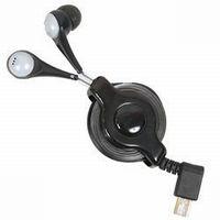 【サンコー】イヤフォンカナル型 microUSB端子専用 iBud retractable earphone with microUSB IBUDBL32