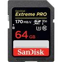 【サンディスク SanDisk 海外パッケージ】【SDXC 64GB】SDSDXXY-064G-GN4IN【UHS-I U3】【class10】