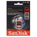 【サンディスク SanDisk 海外パッケージ】【SDXC 128GB】SDSDXXY-128G-GN4IN【UHS-I U3】【class10】