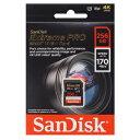 【サンディスク SanDisk 海外パッケージ】【SDXC 256GB】SDSDXXY-256G-GN4IN【UHS-I U3】【class10】