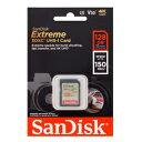 【サンディスク SanDisk 海外パッケージ】【SDXC 128GB】SDSDXV5-128G-GNCIN【UHS-I】【class10】