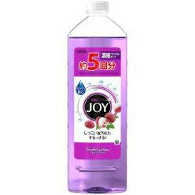 【P&Gジャパン】ジョイ コンパクト フレッシュライチの香り 詰め替え 特大 770ml 食器用洗剤