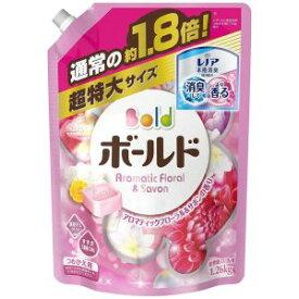 【P&Gジャパン】ボールド 洗濯洗剤 液体 詰替用超特大サイズ 1.26kg アロマティックフローラル&サボンの香り