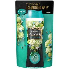 【P&Gジャパン】レノア ハピネス アロマジュエル エメラルドブリーズの香り 詰め替用 455ml 洗濯用芳香剤