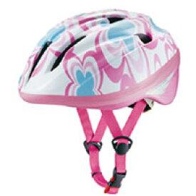 【オージーケーカブト OGK Kabuto】オージーケーOGK ジェイクレス2 J-CULES2 フラワーピンク 自転車ヘルメット子供用