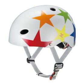 【オージーケーカブト OGK Kabuto】オージーケーカブト 自転車ヘルメット FR-KIDS エフアールキッズ スターホワイト サイズ:50〜54cm(未満)