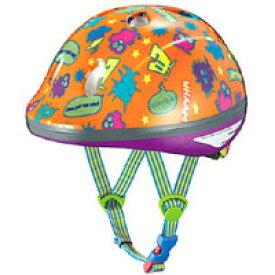 【オージーケーカブト OGK Kabuto】PeachKids ピーチキッズ 自転車ヘルメット子供用 モンスターオレンジ サイズ:47〜51cm