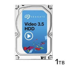 【シーゲート SEAGATE】3.5インチSATA、1TB、5900rpm、キャッシュ64MB ST1000VM002 バルクパッケージ
