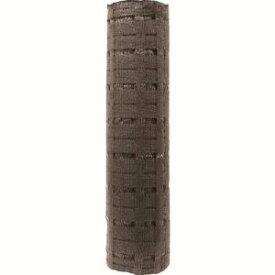 【トラスコ中山 TRUSCO】トラスコ中山 TRUSCO 美観間仕切りネットフェンス ロール ブラウン 80cm×50m TBNF-0850-BR