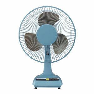【アピックス APIX】レトロ扇風機 サックスブルー FSSR-0719-BL