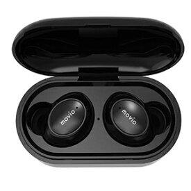 【ナガオカ NAGAOKA(MOVIO)】Bluetooth4.2対応 オートペアリング機能搭載 完全ワイヤレスイヤホン M203TWSBK