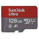 【サンディスク(SanDisk) 海外パッケージ】【microSDXC 128GB】SDSQUAR-128G-GN6MN【UHS-I】【Class10】