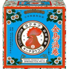 【大日本除虫菊 金鳥 KINCHO】金鳥の渦巻 50巻 (紙函)