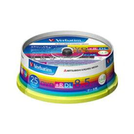 【三菱 Verbatim】DTR85HP25V1 DVD+R DL 8.5GB 8倍速25枚
