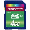 トランセンド 【SDHC 4GB】TS4GSDHC4【Class4】