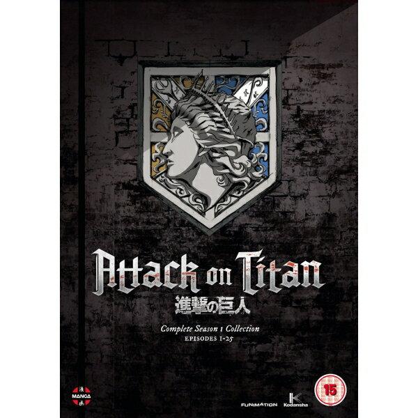【送料無料・日本語音声有】進撃の巨人 コンプリート シリーズ 1 コレクション 全25話 - Attack On Titan Complete Season One Collection Episodes 1-25 DVD 輸入版