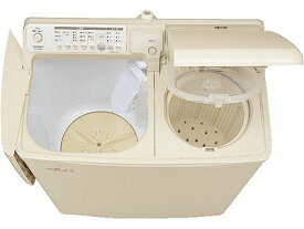 日立 自動2槽式洗濯機『青空』 PA-T45K5(CP)パインベ−ジュ 洗濯容量4.5kg 脱水容量5kg PAT45K5CP【送料無料】【KK9N0D18P】