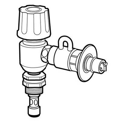 パナソニック 食器洗い機設置用 分岐水栓 CB-EM7【KK9N0D18P】