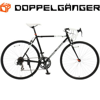 Doppelganger 700 c bicycles road bike 423 Obelisk 423-BK-obelisk black
