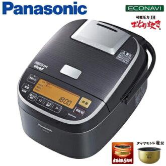 Panasonic 5.5 if l variable pressure power IH cooker rice dance 1.0 L SR-PX104-K stainless steel black