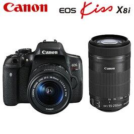 キヤノンデジタル一眼レフカメラEOSKissX8iダブルズームキットEOSKiss-X8i-WKIT