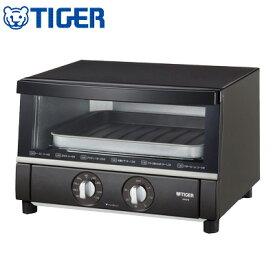 【キャッシュレス5%還元店】タイガー オーブントースター やきたて シリコン加工の調理トレイ KAS-B130-T ブラウン 【送料無料】【KK9N0D18P】