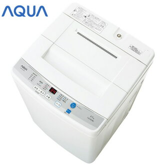 Aqua fully automatic washing machine vertical AQUA AQW-S45D-W white washing and dewatering 4.5 kg