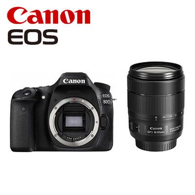 CANON デジタル一眼レフ EOS 80D EF-S 18-135 IS USM レンズキット EOS80D18135ISUSMLK 【送料無料】【KK9N0D18P】